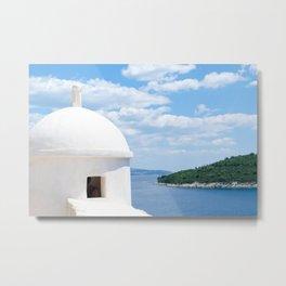 Overlooking Dubrovnik, Croatia Metal Print