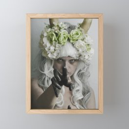 Soon Framed Mini Art Print