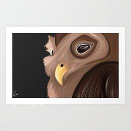 Owlie Art Print