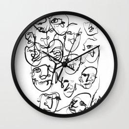FACES / 000 Wall Clock