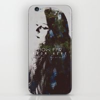 grace iPhone & iPod Skins featuring Grace by  Maʁϟ