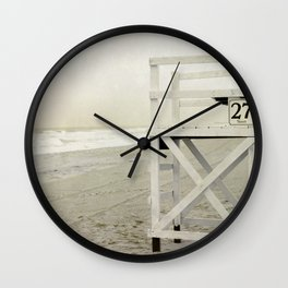 27th Street Wall Clock