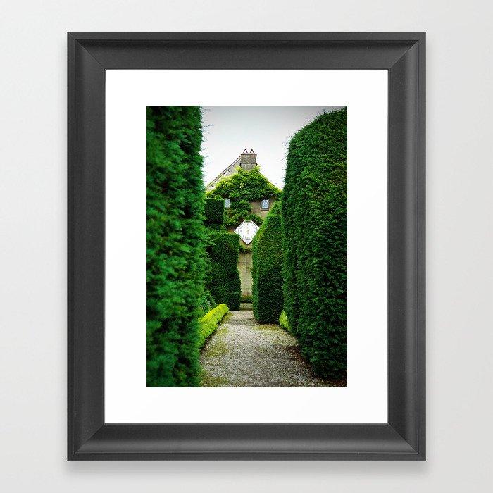 Levens Hall, Lake District, England Framed Art Print