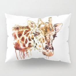 Giraffe Head Pillow Sham