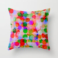 circles Throw Pillows featuring *Circles***** by Mr and Mrs Quirynen