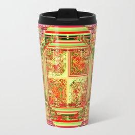 looking for something (yellow) Travel Mug