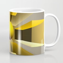 In a magical perspective, fractal abstract Coffee Mug