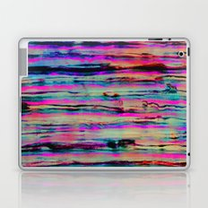Neon Stripes Laptop & iPad Skin