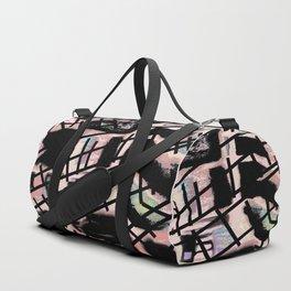 Black Railways Duffle Bag