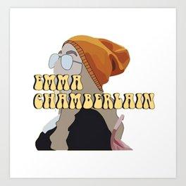 EMMA CHAMBERLAIN Art Print
