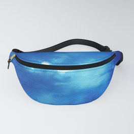 Blue Powder Fanny Pack