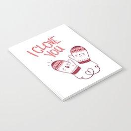 I glove you Notebook