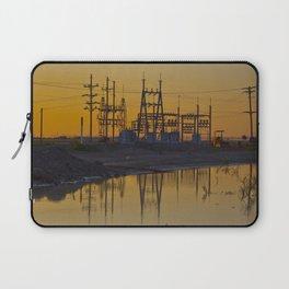 Powerline Sunset Laptop Sleeve
