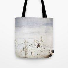 Tom Feiler Solitary Trapper Tote Bag