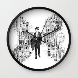 Air Man Wall Clock