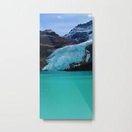 Berg Glacier in Mount Robson Provincial Park BC Metal Print