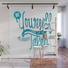 Be Yourself Wall Mural