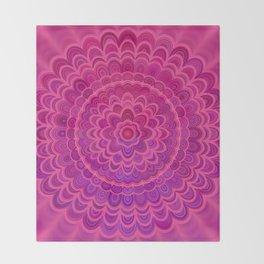 Love Mandala Throw Blanket