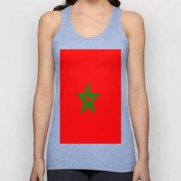 Flag of Morocco Unisex Tank Top
