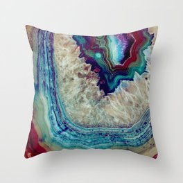 Agate Throw Pillow