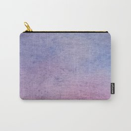 Hand drawn lilac ombre watercolor texture Carry-All Pouch