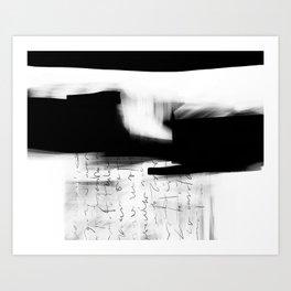Letter #4 Art Print