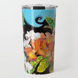 Tropical Flourish Travel Mug