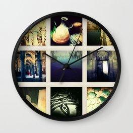 Collage Cordoba, Spain Wall Clock