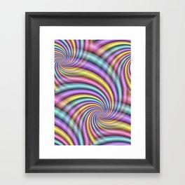 fluid -83- Framed Art Print