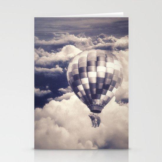 Balloon Bear Stationery Cards