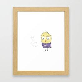 Not a Morning Bird Framed Art Print