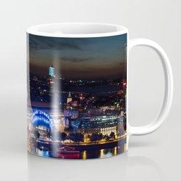 Cologne Cathedral and Hohenzollern Bridge Coffee Mug