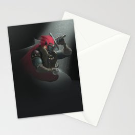 The King of Evil Stationery Cards