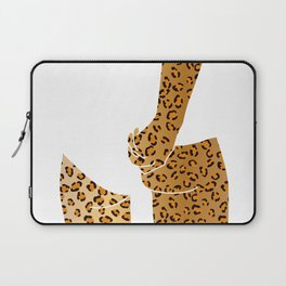leopard butt Laptop Sleeve