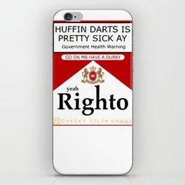 yeah Righto M8 Darts iPhone Skin