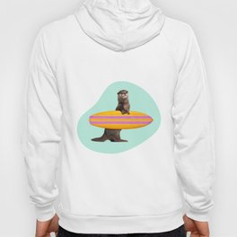 SURFING OTTER Hoody