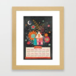 Love & Dreams - 2015 Calendar Framed Art Print