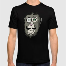 Detective Monkey Head T-shirt
