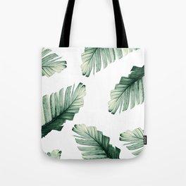 Tropical Banana Leaves Dream #8 #foliage #decor #art #society6 Tote Bag