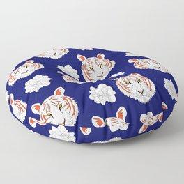 Auburn navy Floor Pillow