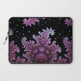 Magical fantasy patterns in purple, pink and green Laptop Sleeve