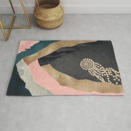 Cosmic Canyon Space Star Rug
