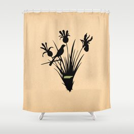 Tennessee - State Papercut Print Shower Curtain