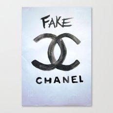 ''FAKE'' Canvas Print
