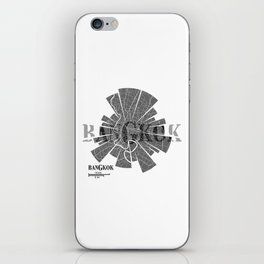 Bangkok Map iPhone Skin