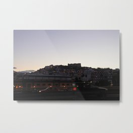 evening thoughts Metal Print