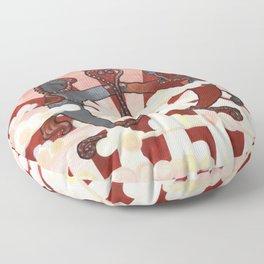 The Conflict II Floor Pillow