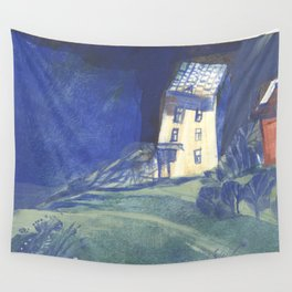 salty wind Wall Tapestry