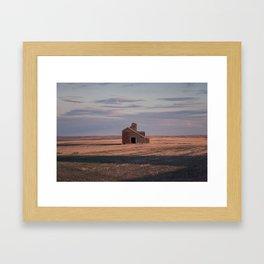 Grain Elevator 19 Framed Art Print