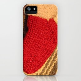 Dreaming of a Knit Christmas iPhone Case